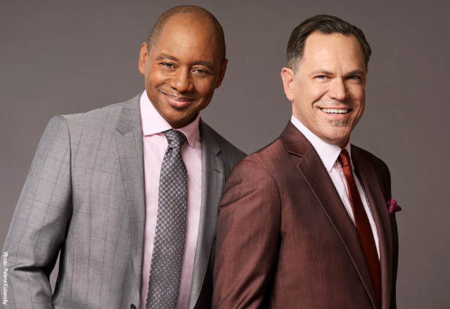 Branford Marsalis and Kurt Elling