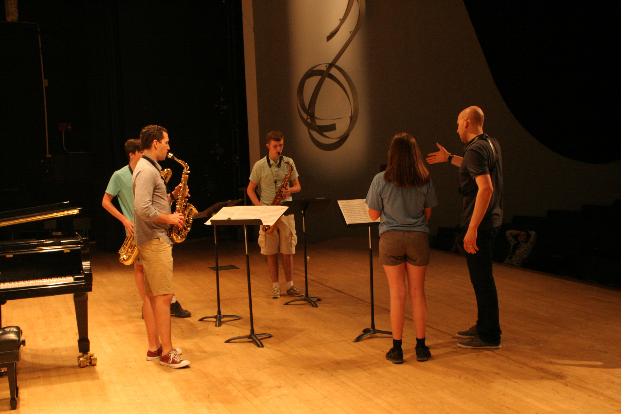 saxophone Workshop