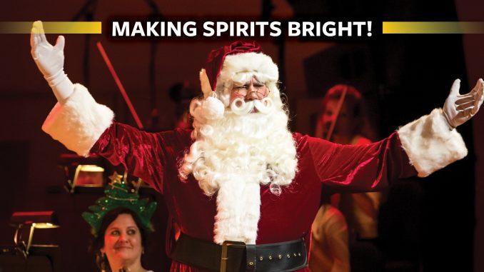 Making Spirits Bright - Santa