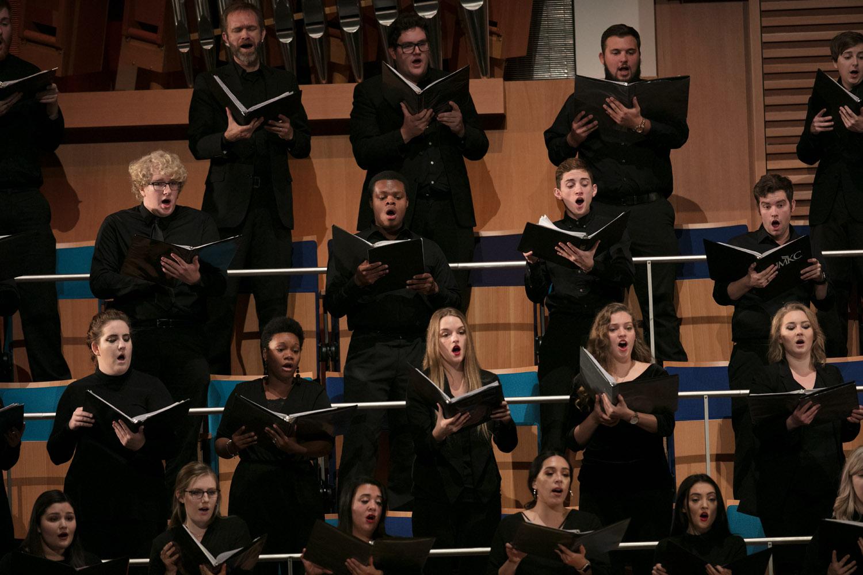 UMKC Choirs at Crescendo