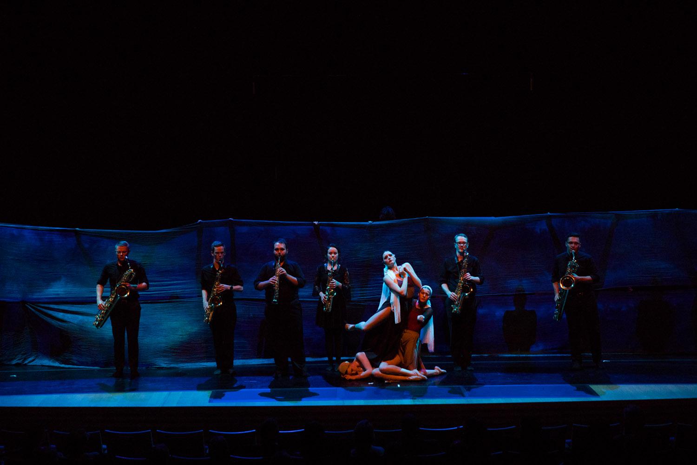UMKC Saxophones and Dancers